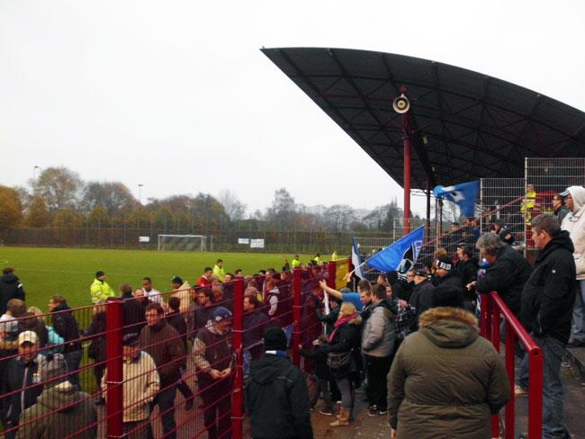 Gespannte Erwartung am letzten Spieltag der Hinrunde der Regionalliga Nord 2014/15