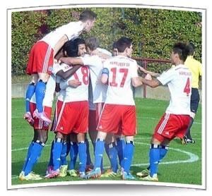 Jubel bei der U23 (Foto: Benno Hafas)