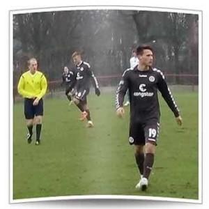 Maurice Litka, bei St. Pauli mit einem Profivertrag bis 2018 ausgestattet, konnte nur wenige Akzente im Spiel setzen.