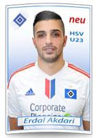 Mit Erdal Akdari verpflichtet der HSV einen weiteren Türken zur Verstärkung der U23