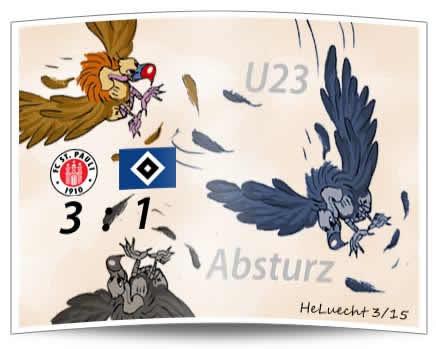 HSV U23 vor dem Absturz?