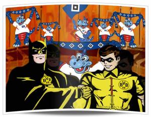 Was tun gegen Batman und Robin? Wer stoppt den BVB?