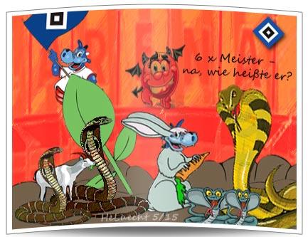 Metamorphose eines Dinos - Vom Meister zum Märchenerzähler.