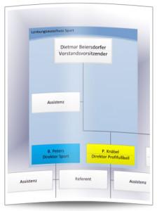 Das aktuelle Organigramm der HSV AG belegt, dass von einer Verschlankung der Gremien keine Rede sein kann.