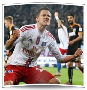Ivo Ilicevic verhinderte mit seinem Tor zum 1:1 im Relegationshinspiel den frühen Tod des Dinos.