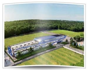 Ein wunderschönes Gebäude für eine strahlende Zukunft. Der HSV Campus soll es richten.
