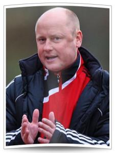 Co-Trainer Steffen Rau - eher ein Experte des Frauenfußballs.